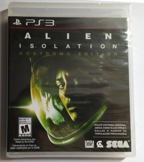 Alien Isolation Ps3 Nuevo Español