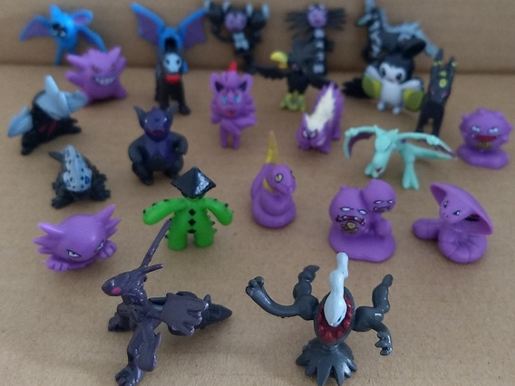 Bolsa Conteniendo 30 Mini Pokemón Cotillón 2-3 Cm Al Azar