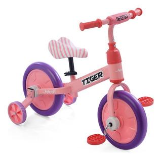 Bicicleta Camicleta Tiger 2 En 1 Bici Con Rueditas Felcraft