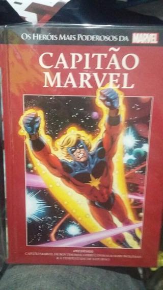 Capitão Marvel - Salvat - Vermelha