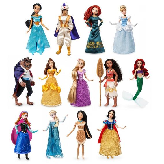 Boneca Princesa Príncipe Disney Store Original Eua Filme