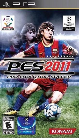 Jogo Pro Evolution Soccer 2011 Pes11 Psp Física