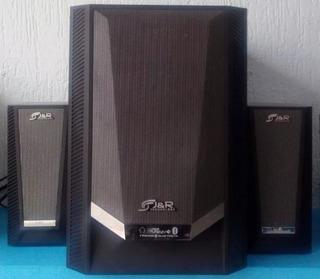 Sistema De Parlantes Teatro En Casa Jyr 80 Watts Bluetooth