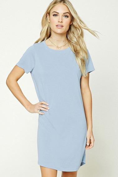 07d205946e06 Vestido Azul Corto Amplio - Ropa, Bolsas y Calzado en Mercado Libre ...