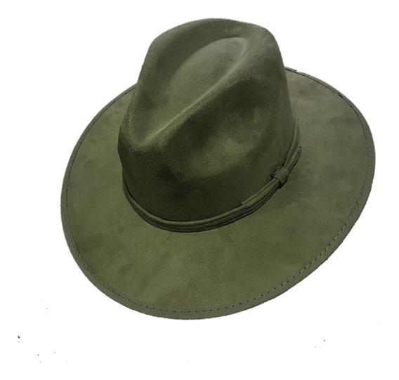 Sombrero Explorer Gamuza Vintage Hipster Indiana