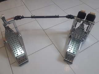 Dw Machined Direct Drive Doble Pedal Con Bolso - Inmaculado