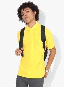 Camisetas Polo Tommy Hilfiger Infantil Amarela Envio Rapido