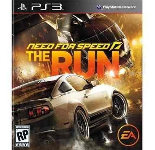 Need For Speed The Run - Jogos Ps3 Playstation 3 / Corrida