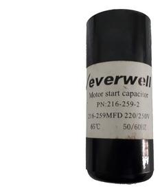 Capacitor Para Motor 220/250vac 216-259mfd 50/60hz