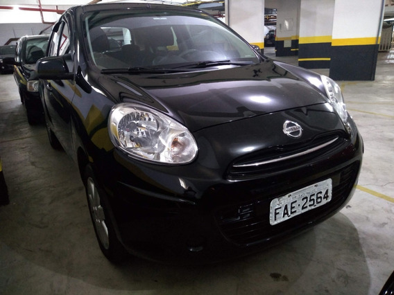 Nissan March 2013 Alarme Porta Copos Hatch Manual Livre