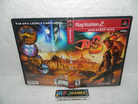 Jak 3 Original Com Caixa Para Ps2 Playstation 2 - Loja Rj