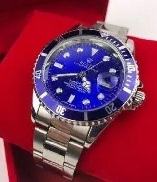 Relógio Masculino 45mm Aço Envio Em 24h Promoção