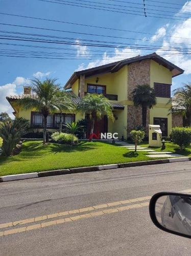 Casa Com 6 Dormitórios, 811 M² - Venda Por R$ 5.800.000 Ou Aluguel Por R$ 25.000/mês - Jardim Fazenda Rincao - Aruja V - Arujá/sp - Ca0781