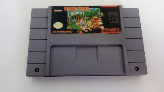 Fita Donkey Kong Country 1 Original - Super Nintendo