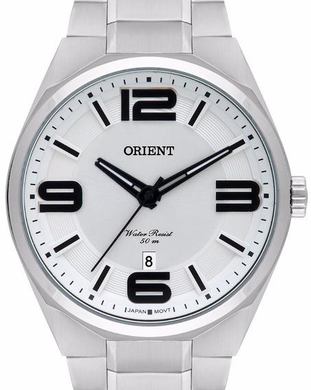Relógio Orient Masculino Prata - Mbss1326 S2sx