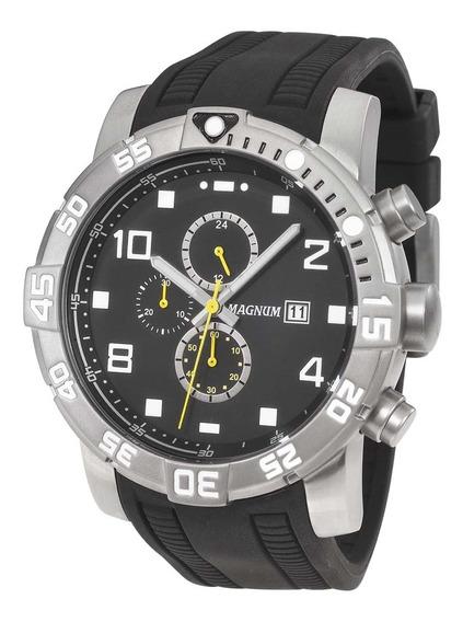 Relógio Masculino Magnum Analógico Ma34174p - Grafite