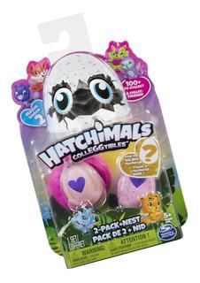 Hatchimals Colleggtibles, 2 Figuras + Nido S2