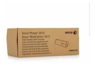 Toner Xerox 106r02723 3610 3615 Alta Capacidad Original