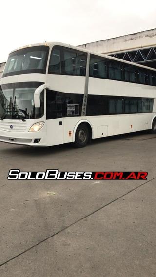 Bus Omnibus 2012 Troyano 60 Semi Cama - Scania