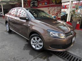 Volkswagen Vento Style 1.6l Aut A/ac 2015 Marron Dakar