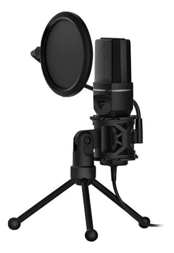 Micrófono Game Factor MCG601 cardioide negro