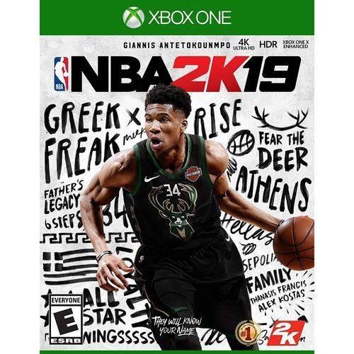 Xbox One Nba 2k19 Novo Lacrado