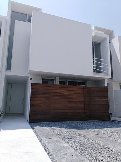 Casa Nueva En Fraccionamiento, Cerca Anahuac,cuidad Judicial