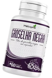 Óleo De Groselha Negra 60 Cápsulas 1000mg - Melcoprol
