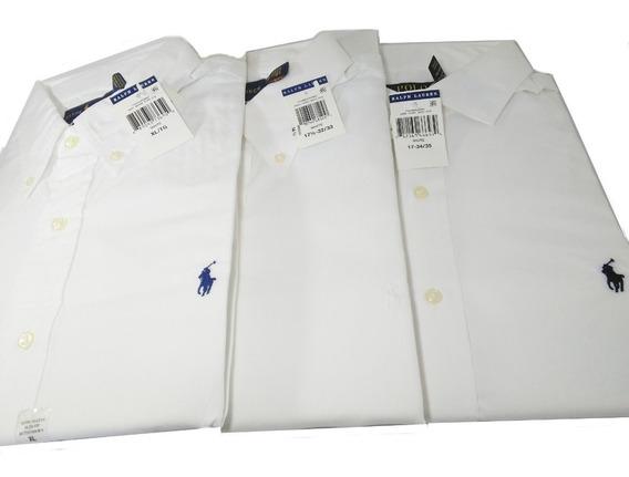 Camisas Originales Polo Ralph L Talla Xl 17,5 Ó 17 Scalia