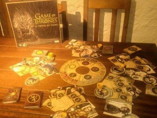 Game Of Thrones: O Trono De Ferro - Jogo De Tabuleiro
