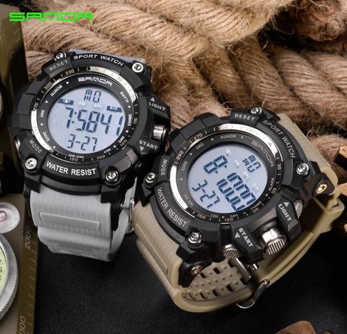 Relógio Masculino Digital Sanda Watch Sport Mod 359 Promoção