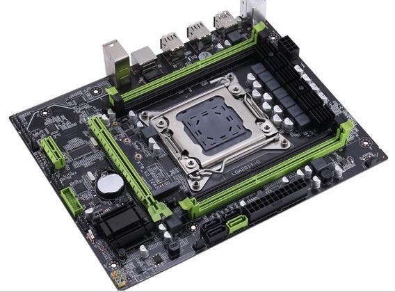 Kit Placa Mãe Lga 2011 X79 Ddr3 Até 64gb +cpu Xeon + Memória