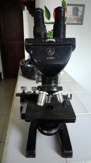 Microscopios Antiguo Marca Spencer