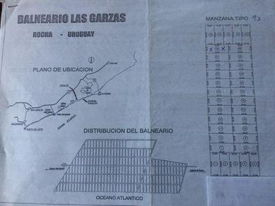 Terreno Las Garzas Rocha
