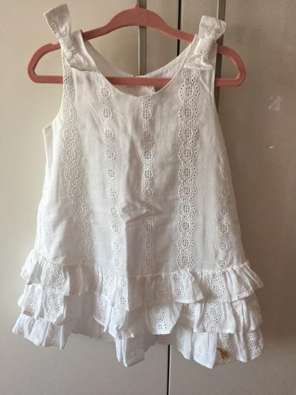 Vestido Branco Tempo 4 - Tam P