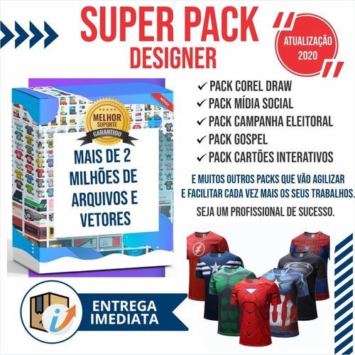 Super Pack Designer Mais De 2 Milhões De Arquivos E Vetores