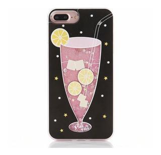 Case iPhone Glitter 6 6 Plus 7 E 7 Plus Capa iPhone + Brinde
