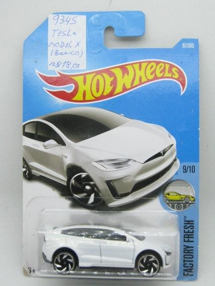Miniatura Tesla Model X-hot Wheels-esc.1/64-blister-(9345)