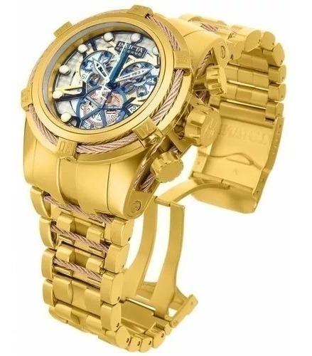 Relógio Pa565 Invicta 13757 Bolt Zeus Original Dourado Novo