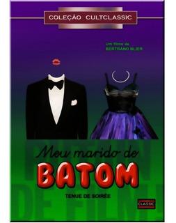 Dvd Filme Meu Marido De Batom Cine Cult Gay Raríssimo Novo!