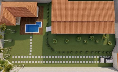 Imagem 1 de 10 de Chacara 1075m2 Em Fase Acabamento A Venda Em Pinhalzinho Sp