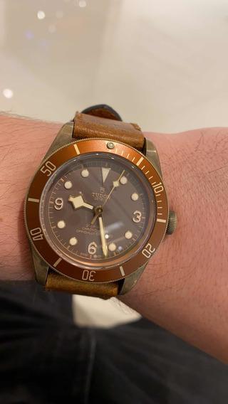 Relógio Tudor Black Bay Bronze Usado