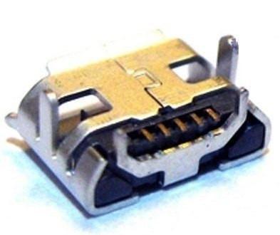 Conector Jack Carga Power Micro Usb Tablet Tr72 C/30