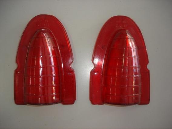 Lente Da Lanterna Traseira Chevrolet Belair 54 Gm 07316279