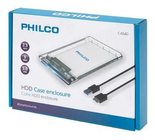 Imagen 1 de 2 de Cofre Case Para Disco Duro Sata 2.5 Usb 3.0 Hdd Notebook