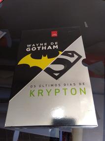 Box Livros - Weyne De Gotham + Os Últimos Dias De Krypton
