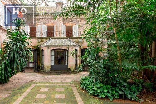 Imagem 1 de 23 de Casa Com 6 Dormitórios À Venda, 515 M² - Jardim Paulistano - São Paulo/sp - Ca0364