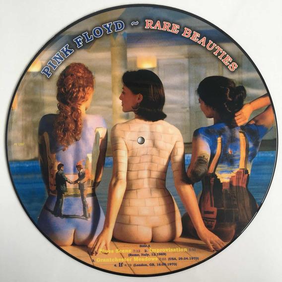 Pink Floyd - Rare Beauties - Lp Picture Disc Novo