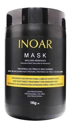 Mask Proteínas Do Trigo E Macadâmia 1kg - Inoar