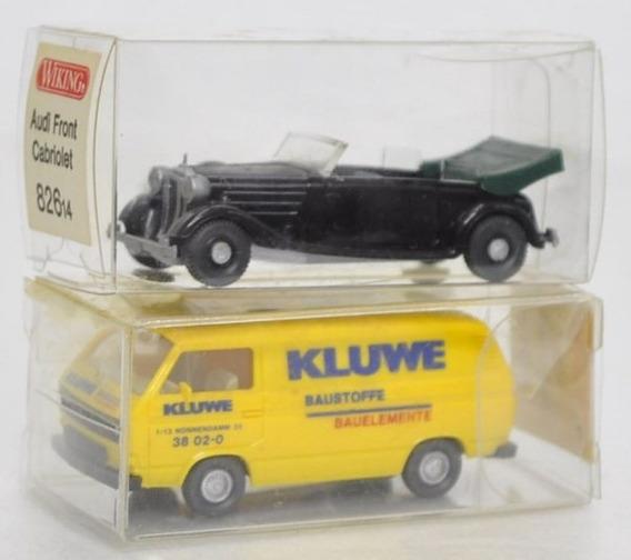 2 Carrinhos Em Miniatura Modelo Audi 82614 E Vw 29120